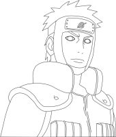 Yamato Lineart by Footstepz