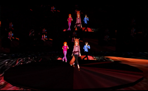 MMD Fireworks Stage by mbarnesMMD