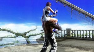 Tekken 6 Asuka Kazama and Armor King. by Themilkguy