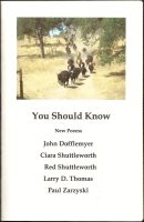 You Should Know by RedShuttleworthPoet