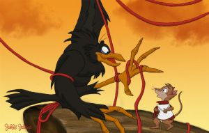 Mrs. Brisby Meets Jeremy by jakkijelene