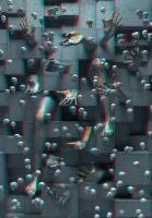 the aliens (stereoscopic) by deignis