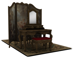 vanity room other angle by madetobeunique