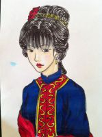 XiaoXiaPi-Ming dynasty colored by irenerei