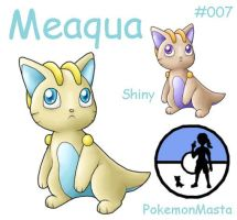 Meaqua 007 by PokemonMasta