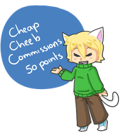 Cheap Cheeb Commissions by Thoughtful-Stargazer