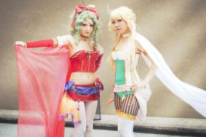 Terra and Celes by Honey-and-Matsuki