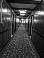 Long Hallway by PUBLIC-DOMAIN-PICS