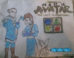 Avatar: The Last Airbender by CjKoRrA23