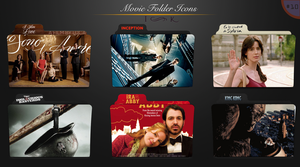 Movie folder icons NO.10 by dyinginthesun