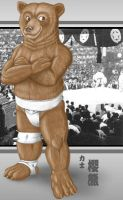Sumo bear by WolfLSI