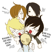 Get Well Soon, Ruki by hardspirits