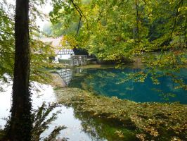 Bavaria stock Blaubeuren by photodash