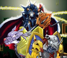 Digimon by Kage0kami