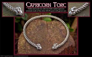 Capricorn Torc by Illahie