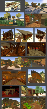 Modded SMP Town by CrazyRonn