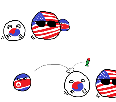 northkoreaball is of meanie by ballsofsteal