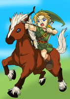 link with epona by rianneZ