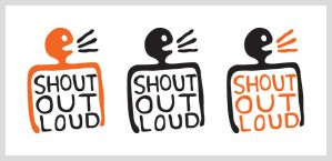 Shout out loud logo concept 01 by dugebag