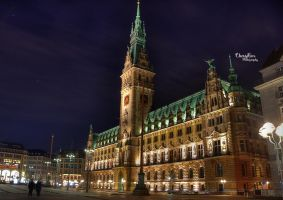 Hamburg townhall by chevyhax