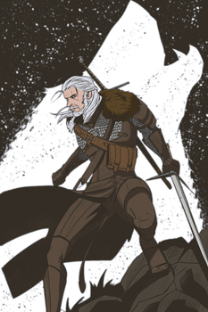 Geralt4 by zinyck