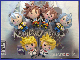 Chibi-Charms: Kingdom Hearts 2 by MandyPandaa