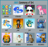 2012 Art Summary by Peeka13