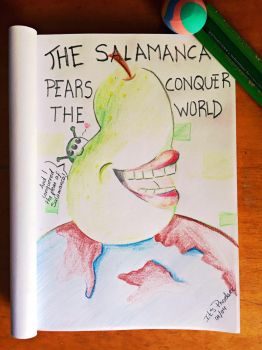 The Salamanca Pears conquer the world by ItsPhoebee
