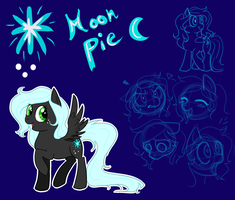 MLP: OC Moon Pie by XxUkarixX