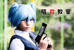 Shiota Nagisa (Assassination Classroom) by jayz3ro