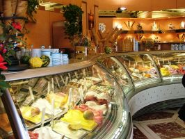 Gelato Shop, Florence by Alredhead
