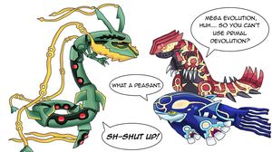Mega Rayquaza Confirmed by Archappor