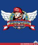 Jumpman the plumber T-shirt design by alsnow