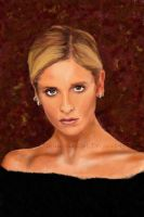 Buffy: Portrait Practice by Flynn-the-cat