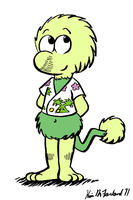Wembley Fraggle as Pogo Possum by Negaduck9