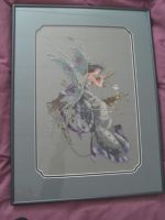Cross Stitched faerie by Merewyn1066