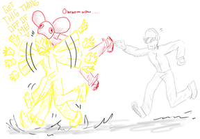 Deadmau5 attaque by DaftVirus