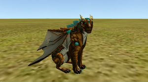 Bronze and Turquoise Dragon Preset by Skylandy