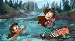 Fishing by sharkie19