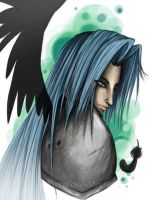One Winged Angel by KirraDes