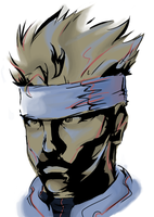 Ramdom - Solid Snake by Pixelated-Dude
