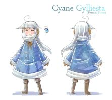 Character sheet - Cyane Gylliesta by Porforever