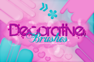 +DECORATIVE BRUSHES by turnlastsong