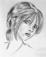 Pencil Girl by sharem