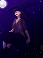 Witch by Pulse-of-Gravity