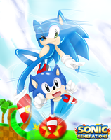 SONIC GENERATIONS by Naromiji