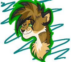 x-secludedsuicide-x - Head shot commission 1 by HappyLionHorse