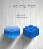 """L"" block icon by task-redshade"