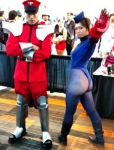 Bison and Juli cosplay Fanime 2014 by LexLexy