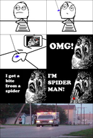 I'm Spiderman! -Rage Comic- by Albowtross91